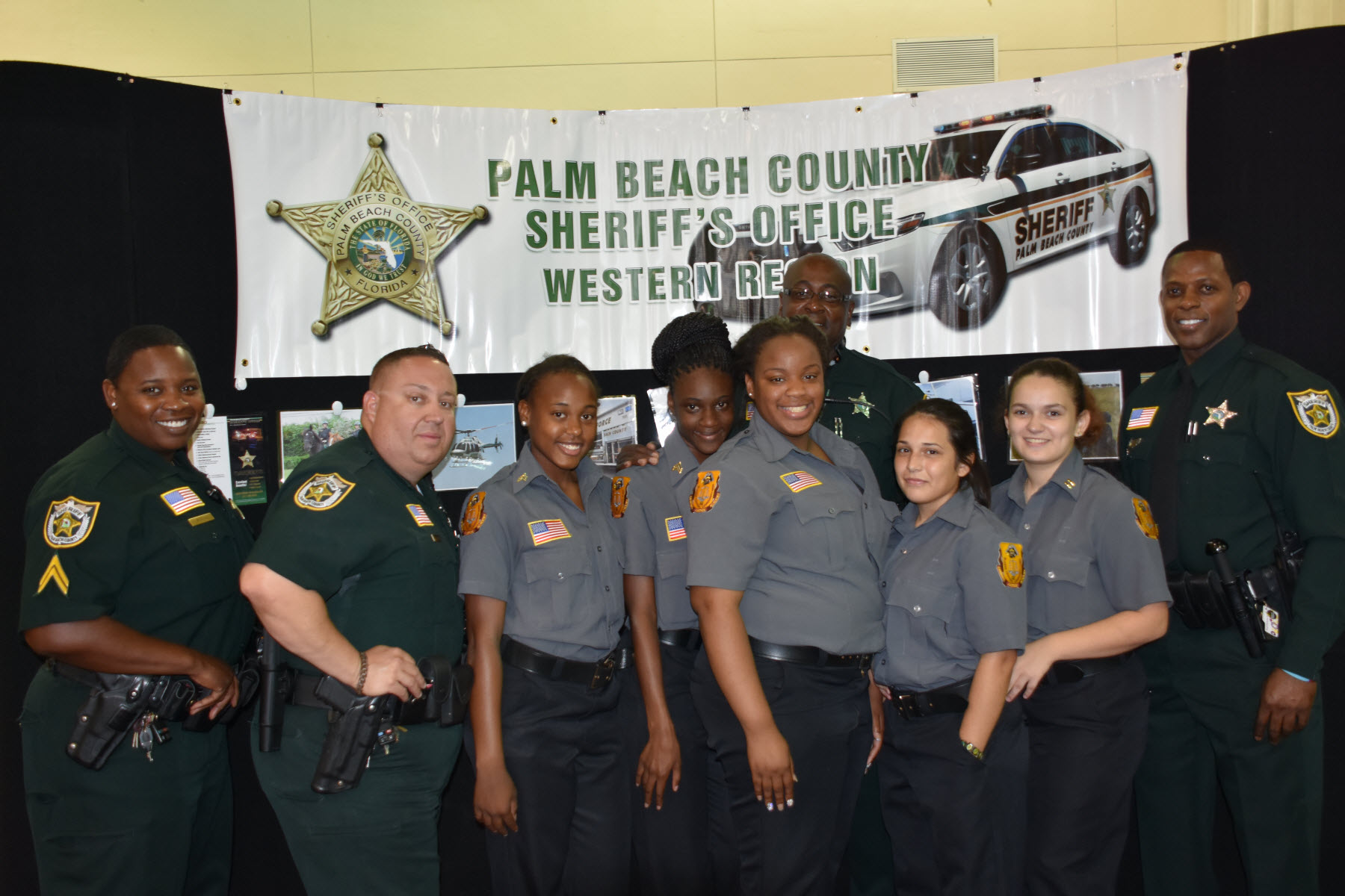 Pbso deputies visited glades central high school on career - Palm beach county property appraisers office ...