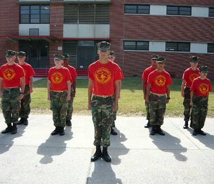 Young Marines Cadets