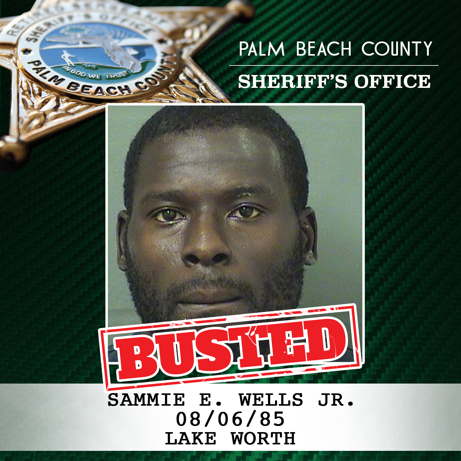 PBSO Bust Drug Dealer from Lake Worth - Palm Beach County