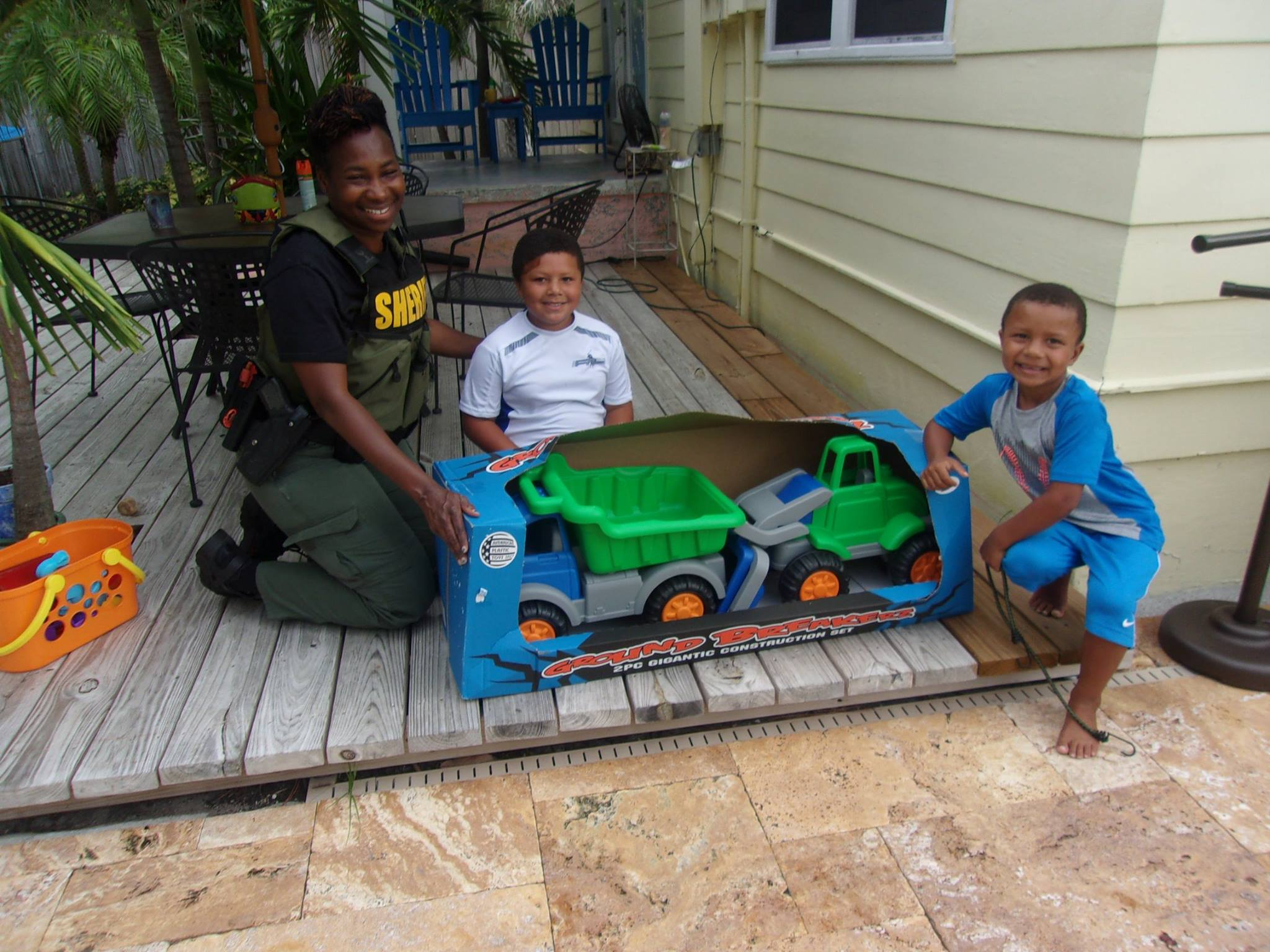 Community Policing Deputy Sherry Baker Mentors Boys