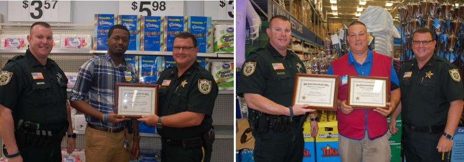 PBSO Honors Store Leaders