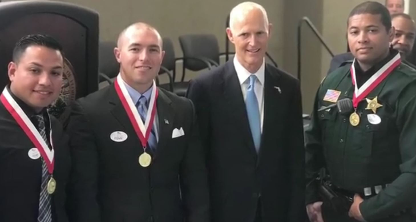 Gov. Rick Scott Vet Awards