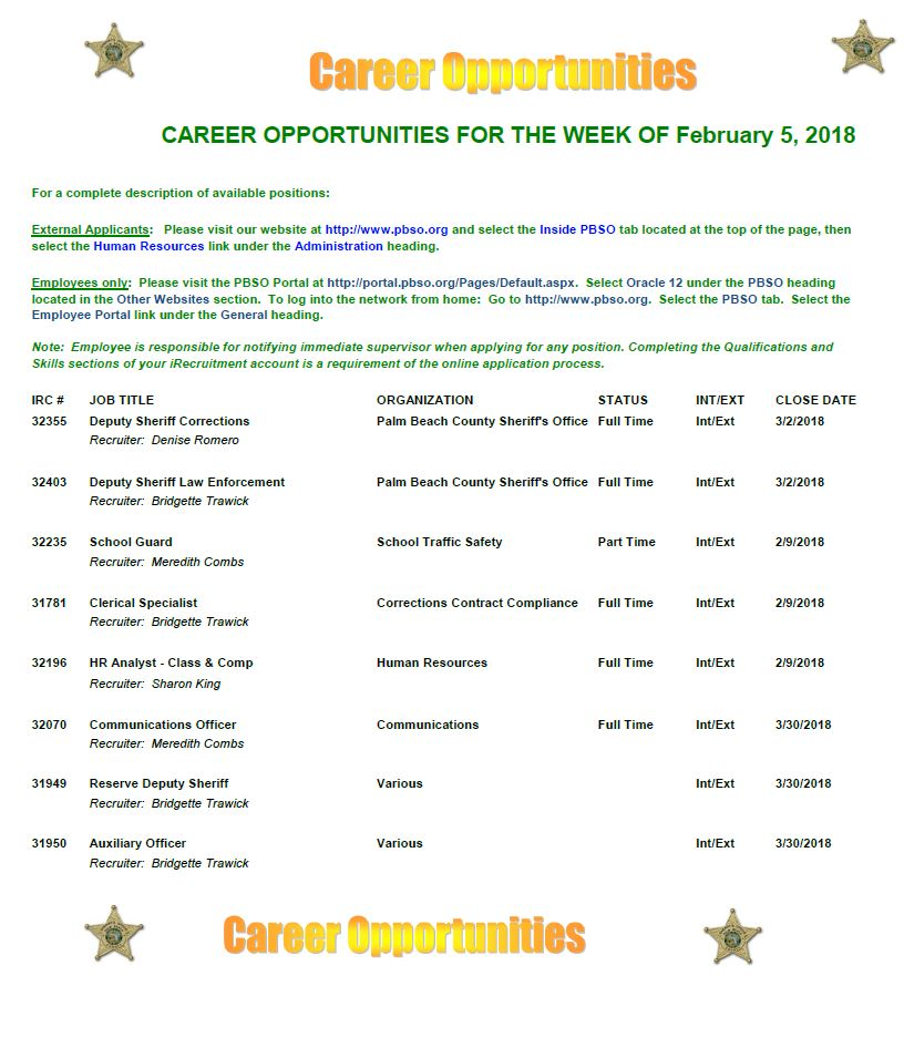 Human Resources Jobs In Palm Beach County