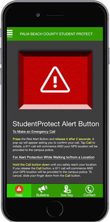 Student Protect app image