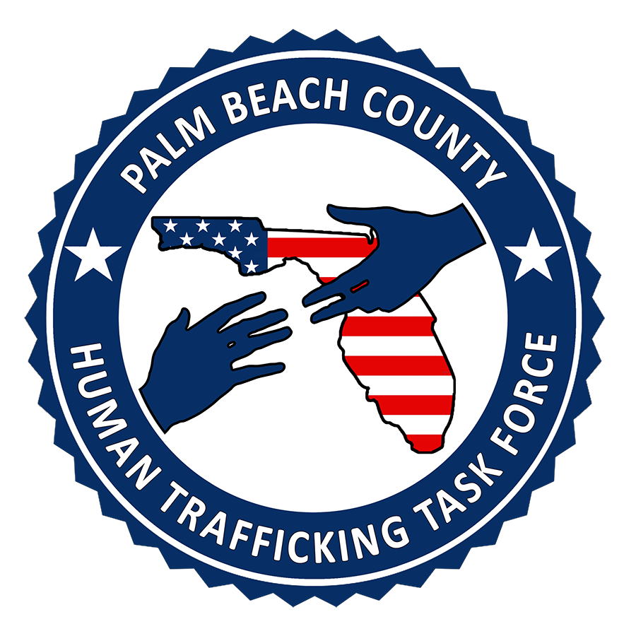 Palm Beach County Human Trafficking Task Force logo
