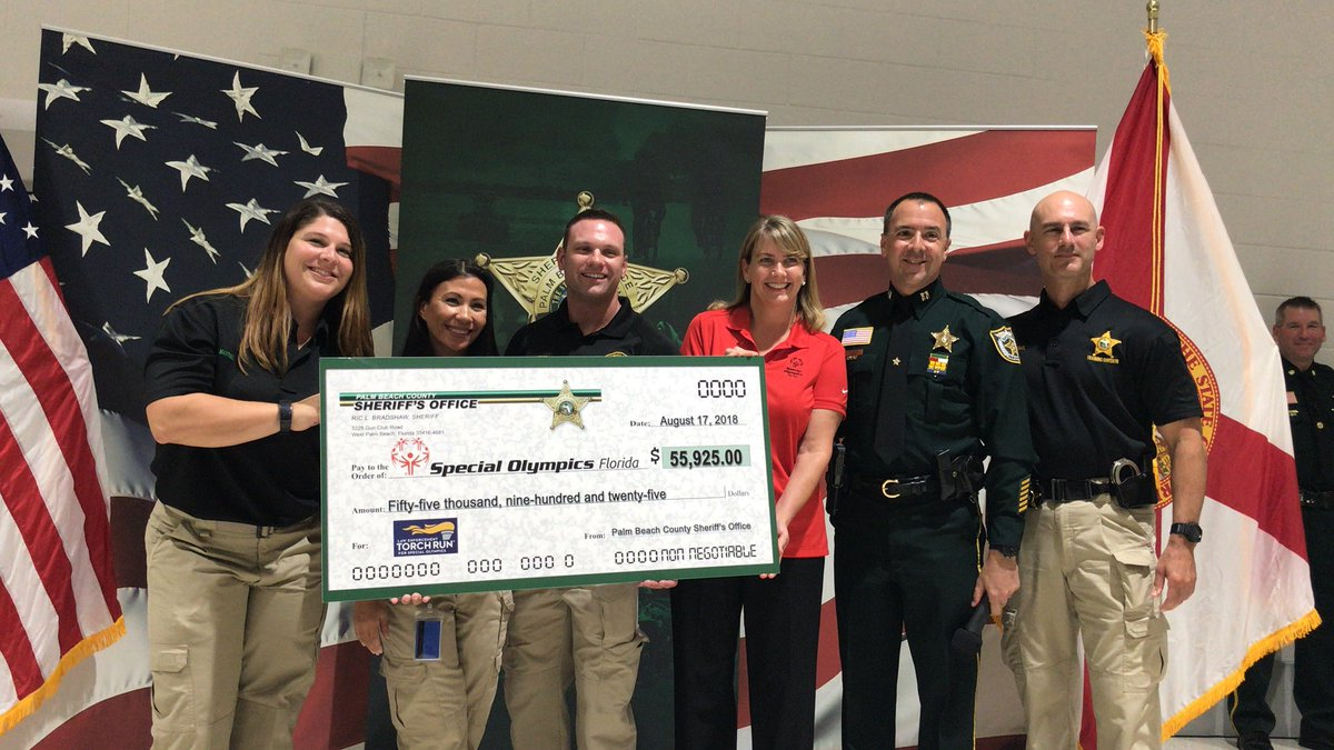 PBSO raises $56k for the Special Olympics