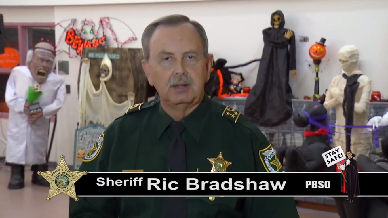 Halloween Safety Message from Sheriff Bradshaw