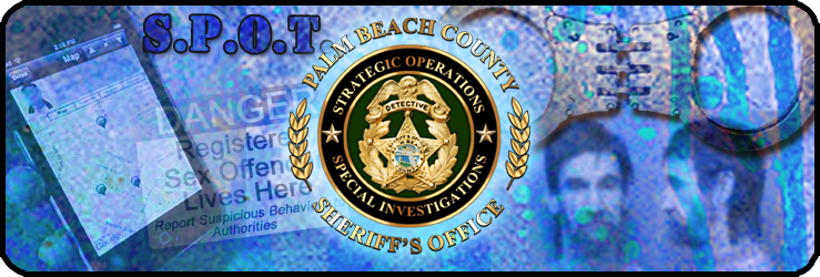 Sexual Predator / Offender Tracking Unit - Palm Beach County