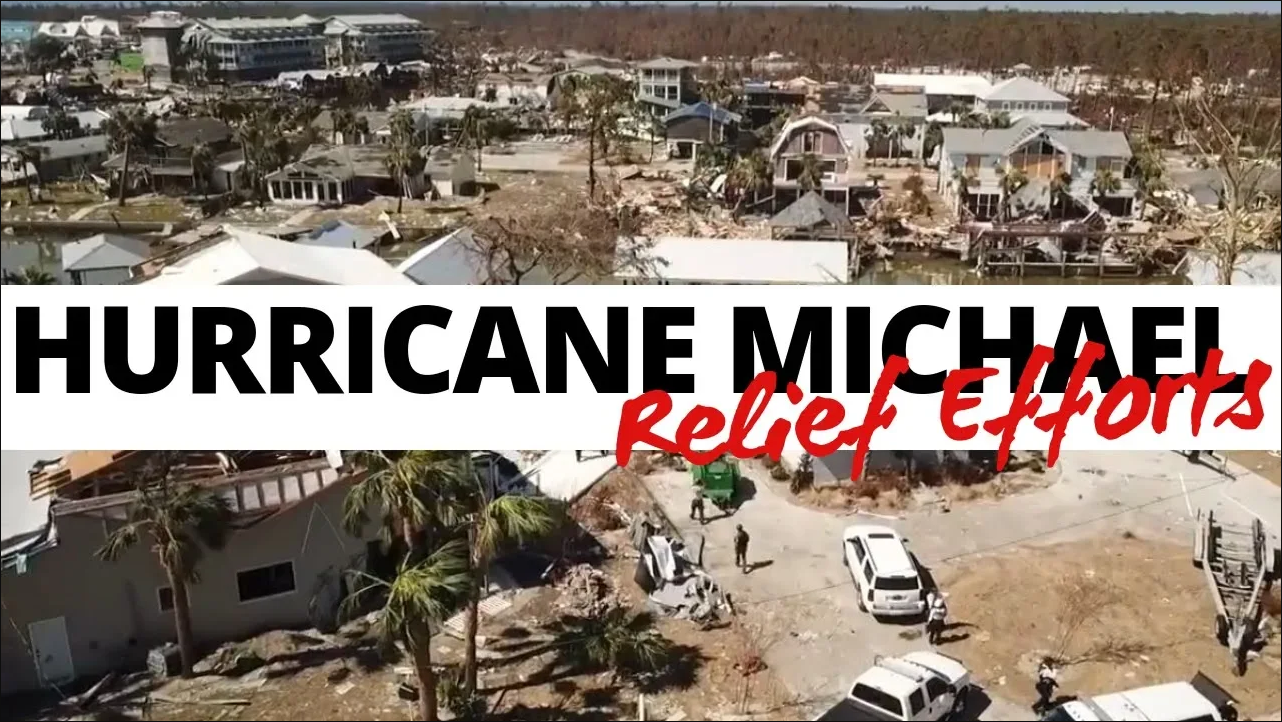 PBSO's Hurricane Michael Relief Efforts