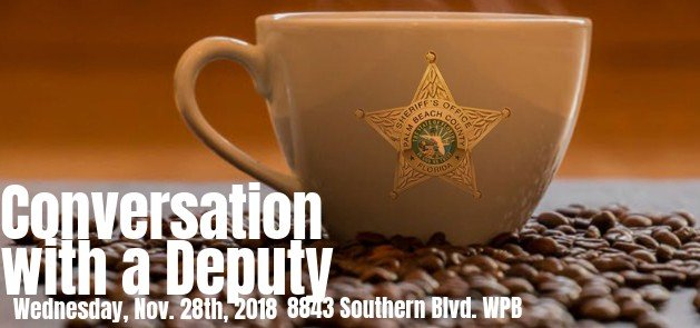 Conversation with a Deputy 11-28-2018