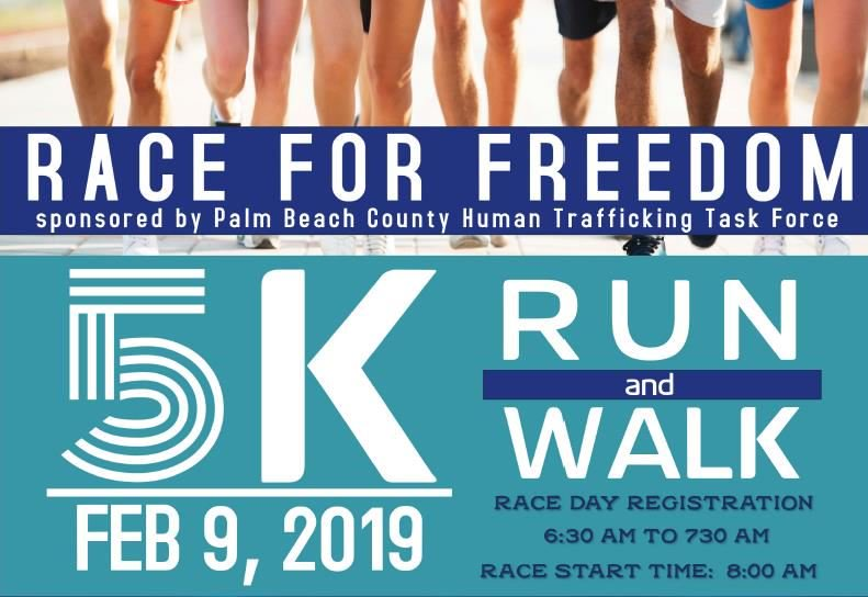 Save the date: Race for Freedom