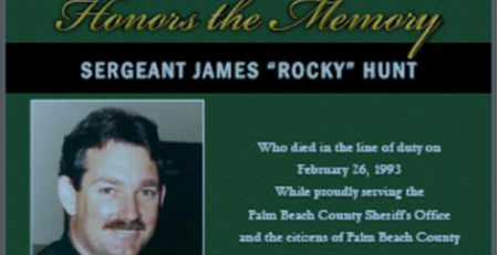 Remembering Sgt James Rocky Hunt