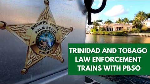 Trinidad and Tobago LE Train with PBSO