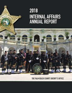 PBSO ANNUAL REPORT for 2018