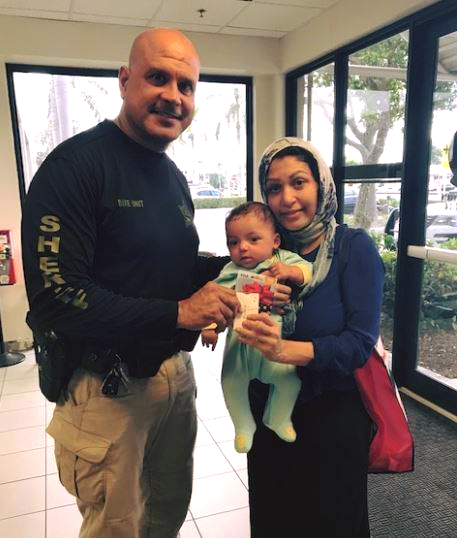 PBSO helps Mother and Newborn