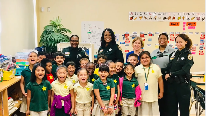PBSO Deputies attend Career Day - Palm Beach County