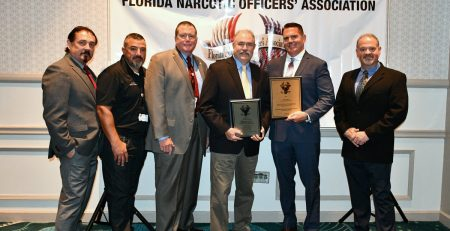 Narcotics Division Receives Award