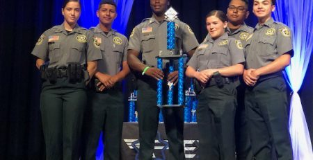 PBSO Explorers awarded 1st place