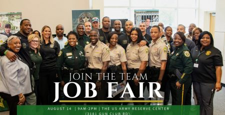 PBSO Job Fair on 8-14-2019