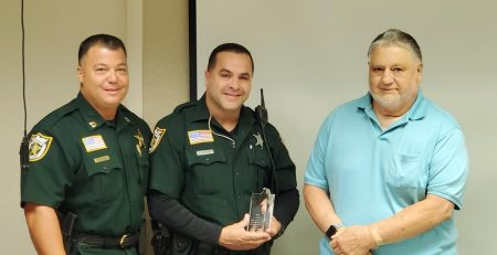 Deputy Receives a Super Star Life Saving Award