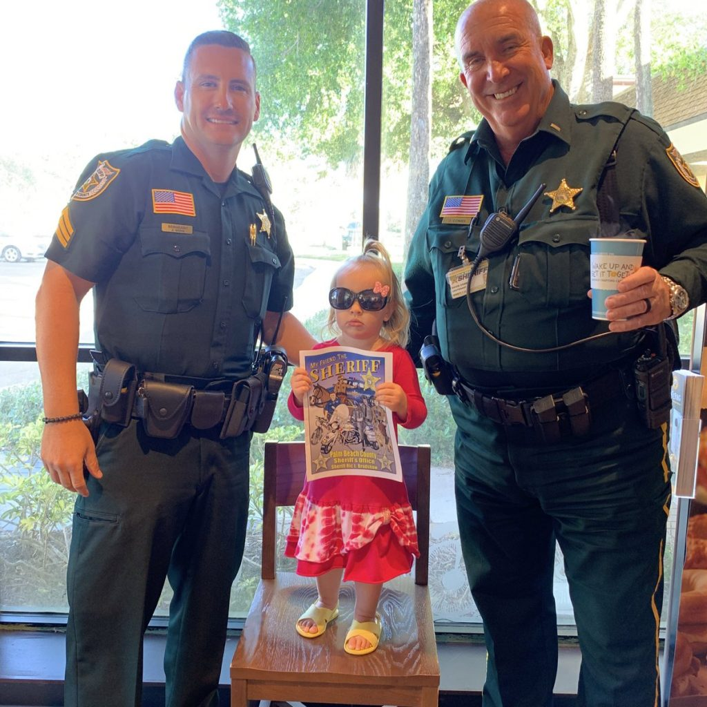 Coffee with a Deputy in Boca Raton on 11-7-2019