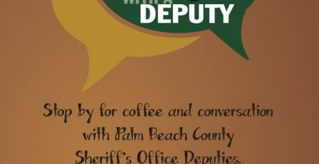 Conversation with a Deputy on 11-18-2019 in Belle Glade