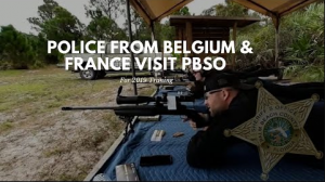 Police Officers from Belgium and France visit PBSO