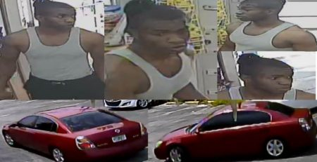 Suspect WANTED for committing a Robbery at a business in unincorporated West Palm Beach (MA20-43)