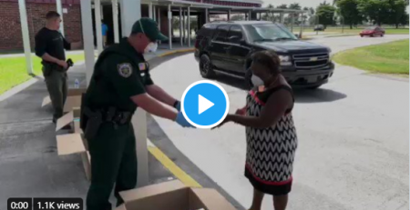 PBSO Helping Families in Need of Shoes