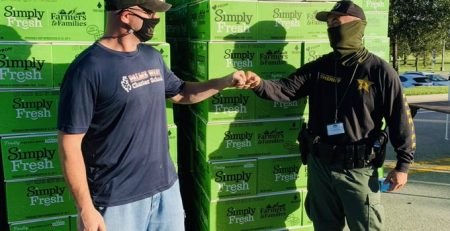 Partnerships for Food Distribution in Royal Palm