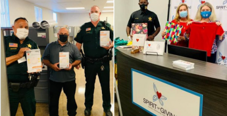 Spirit of Giving Network donates masks