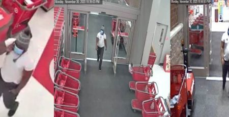 MA21-02 Suspect wanted for using stolen credit cards at a local Target